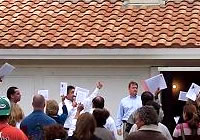 Bidding at auction and negotiating the best possible price and terms for buying property