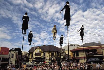 Adelaide Fringe Stilts