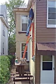 Resourceful property maintenance but a bit crazy