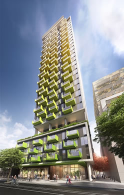 adelaide property lifestyle - kodo apartments highrise